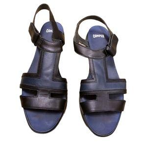Camper Colorblock Platform Sandals